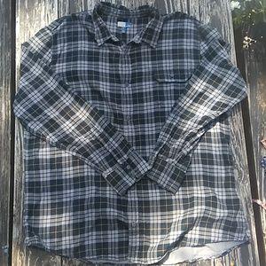 Like New Plaid Flannel Shirt Mens XXL